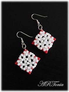 ARTonia / Rulla earrings - Romantická geometria