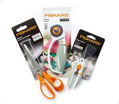 Win a bundle of Fiskars high-quality cutting tools! Enter our giveaway by March for your chance to receive a rotary cutter, classic scissors and microtip scissors!
