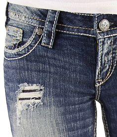 Silver Pioneer Stretch Jean