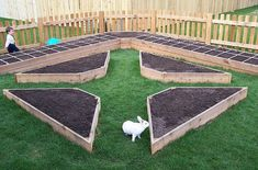 raised beds for a traditional potager #garden: