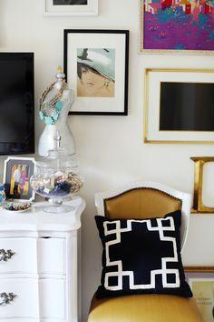 Style At Home: Devon Dyer   theglitterguide.com