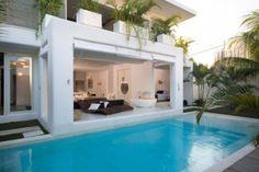 Modern White home in Bali, Indonesia