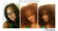 This hair of mine... Decisions...