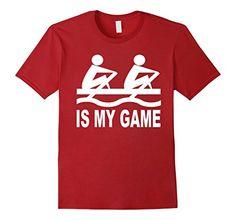 Mens Rowing Is My Game T-Shirt 2XL Cranberry Sports Stuff... https://www.amazon.com/dp/B072PT8B2R/ref=cm_sw_r_pi_dp_x_GQWjzb51EX2TZ