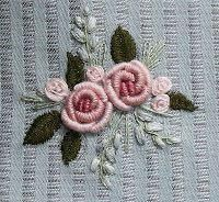 my stitching and other journeys – Handwerk und Basteln Hand Embroidery Projects, Hand Embroidery Videos, Hand Embroidery Flowers, Flower Embroidery Designs, Silk Ribbon Embroidery, Embroidery Patterns, Bullion Embroidery, Brazilian Embroidery Stitches, Embroidery Works