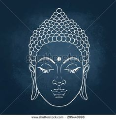 Vector illustration on chalkboard background. Illustration of Sitting Buddha vector, clipart and stock vectors Vector illustration on chalkboard background. Budha Painting, Dot Painting, Stone Painting, Buddha Tattoos, Buddhist Symbols, Buddhist Art, Budha Art, Buddha Drawing, Buddha Kunst