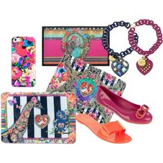 colorful by differentfashioncz on Polyvore