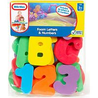 Little Tikes Bath Time Foam Letters and Numbers