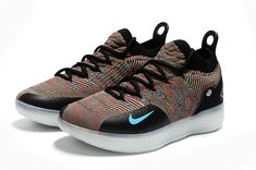 new concept d53ee cd8f9 Cheap 2018 nike zoom kd 11 multicolor black persian violet bright crimson  chlorine blue For Sale