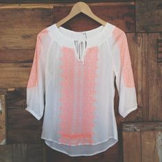 neon + embroidery = LOVE #rootsnewarrival #neon #embroidery