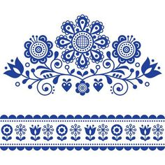 Scandinavian vector folk art pattern with flowers, traditional floral frame or border design. Scandinavian vector folk art pattern with flowers, traditional floral frame or border design. Flower Pattern Design, Pattern Art, Flower Patterns, Vector Pattern, Art Patterns, Scandinavian Embroidery, Scandinavian Folk Art, Scandinavian Pattern, Folk Embroidery