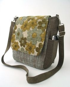 womens handbag, crossbody bag, fabric purses, shoulder bag ...
