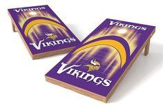 Minnesota Vikings Cornhole Board Set - Arch