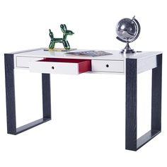 Constructed from sustainably harvested hardwoods Play Table, Table Desk, Kids Workspace, Little Boy Blue, White Desks, Office Desk, Hardwood, Kids Room, Vanity