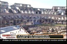 La fiebre del Pokemon Go llegó al Coliseo Romano