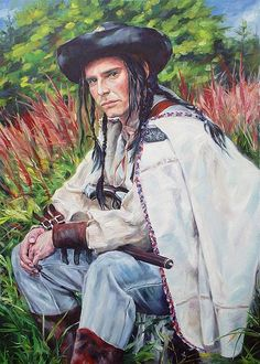 Gypsy Men, Wall Art, Tattoos, Men's Clothing, Painting, Poland, Braids, Costume, Style