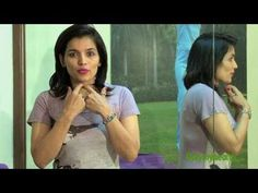 Kiran Sawhney demonstrates exercises to for facial muscles to get great jawline and high cheekbones. Exercise to get rid of double chin.