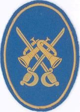Distintivo de Banda de Guerra de las unidades de Caballería