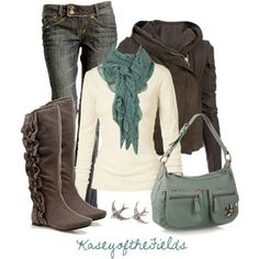 Fall fashion- Boots, Tans, Grey's, Teal - Fashion Jot- Latest Trends of Fashion