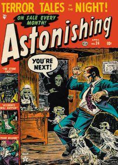 Cover for Astonishing (Marvel, 1951 series) #24
