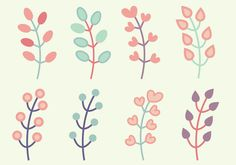 Vector livre Elements Floral