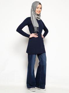 Jeans - Dark Navy Blue - Neways