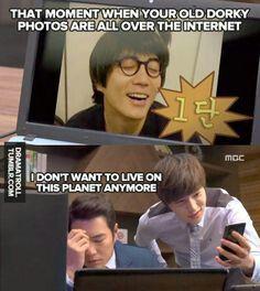Meanwhile Secretary Gil (Myungsoo) is loving it xD