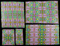 different veneers from cane 3 on black by It's all about color, via Flickr