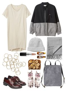 """""""Untitled #83"""" by elliegeen on Polyvore featuring Monki, MAC Cosmetics and France Luxe"""