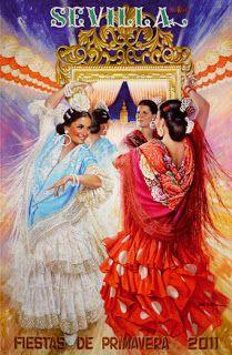 Música y arte flamenco.: La Feria de Abril en Sevilla.
