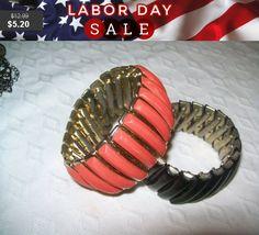 SALE 60% Off Lot of 2 vintage bracelets vintage by vintagebyrudi