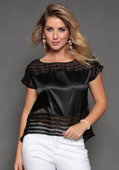 modelagem de blusas manga curta tecido algodão - Pesquisa Google
