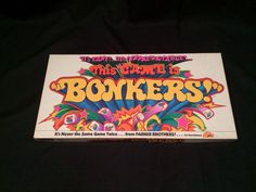 This Game is Bonkers! Board Game No.51 1978 Parker Brothers Complete Ages 8+ #ParkerBrothers