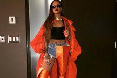 Rihanna Makes Surprise Appearance At OVO Fest In Vetements x Manolo Blahnik Boots Mode Rihanna, Rihanna Riri, Rihanna Style, Rihanna Show, Rihanna News, Rihanna Fashion, Fashion Killa, Look Fashion, Girl Fashion