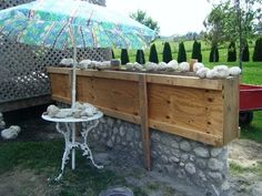 Build a Slip Form Stone Garden Wall: Part 1 - YouTube