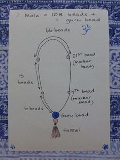 nice DIY Bijoux - Mala - Basic Layout for the beads - Home Decoras