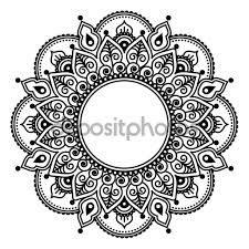 Bildresultat för индийские цветы рисунок