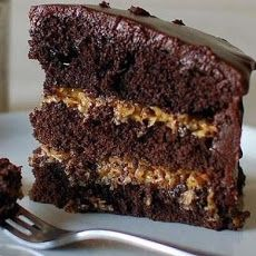* Inside - Out German Chocolate Cake *