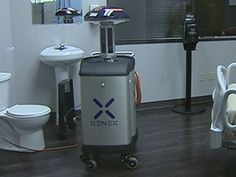 Robot capable of disinfecting and destroying bacteria & viruses - including Ebola - developed in Texas  Bay State Conservative News on Facebook - https://www.facebook.com/pages/Bay-State-Conservative-News/232712126794242