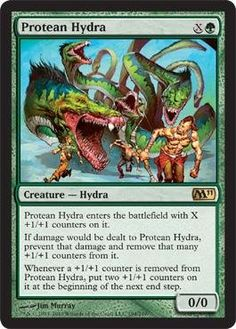 Magic: the Gathering - Protean Hydra