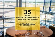 Daily Meal named the Columbia Cafe at Tampa International Airport one of the 35 best airport restaurants in the world!