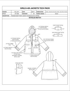 Instead Of Developing Garment Spec Sheets From Scratch And