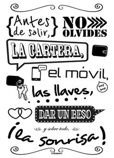 Good Day Quotes : QUOTATION – Image : Quotes Of the day – Description Sharing is Caring – Don't forget to share this quote ! Mr Wonderful, Spanish Quotes, Ideas Para, Hand Lettering, Diy And Crafts, Poems, Sweet Home, Printables, Letters