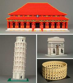 Get Bricked: 31 Incredible Examples of Lego Architecture
