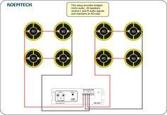 Classroom Audio Systems Multiple Speaker Wiring Diagram Speaker Wire Audio System Subwoofer Wiring