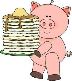 Pig with Pancakes