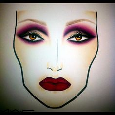 mac facechart, artist unknown