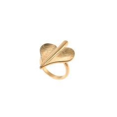 Leaf of love ring