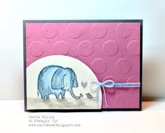 Card bomb: Lots of Love!! Maria Willis www.cardbomb.blogspot.com Stampin' Up!, Lots of Love, New Annual Catalog, 2016-2017 Annual Catalog, cards, handmade, elephant, mouse, adorable
