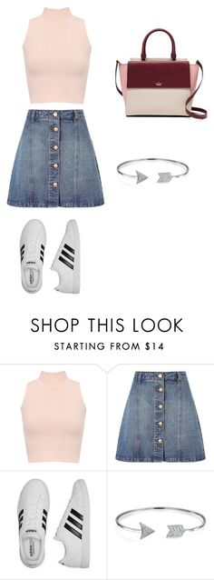 """Sans titre #119"" by megane-putman on Polyvore featuring mode, WearAll, Anita & Green, adidas, Bling Jewelry et Kate Spade"